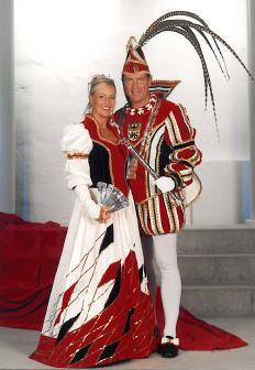 Prinz Joachim I. (Carl) und Prinzessin Iris III.